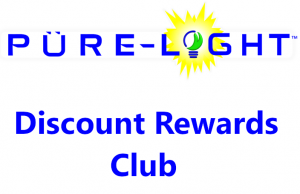 Pure Light Discount Rewards Club
