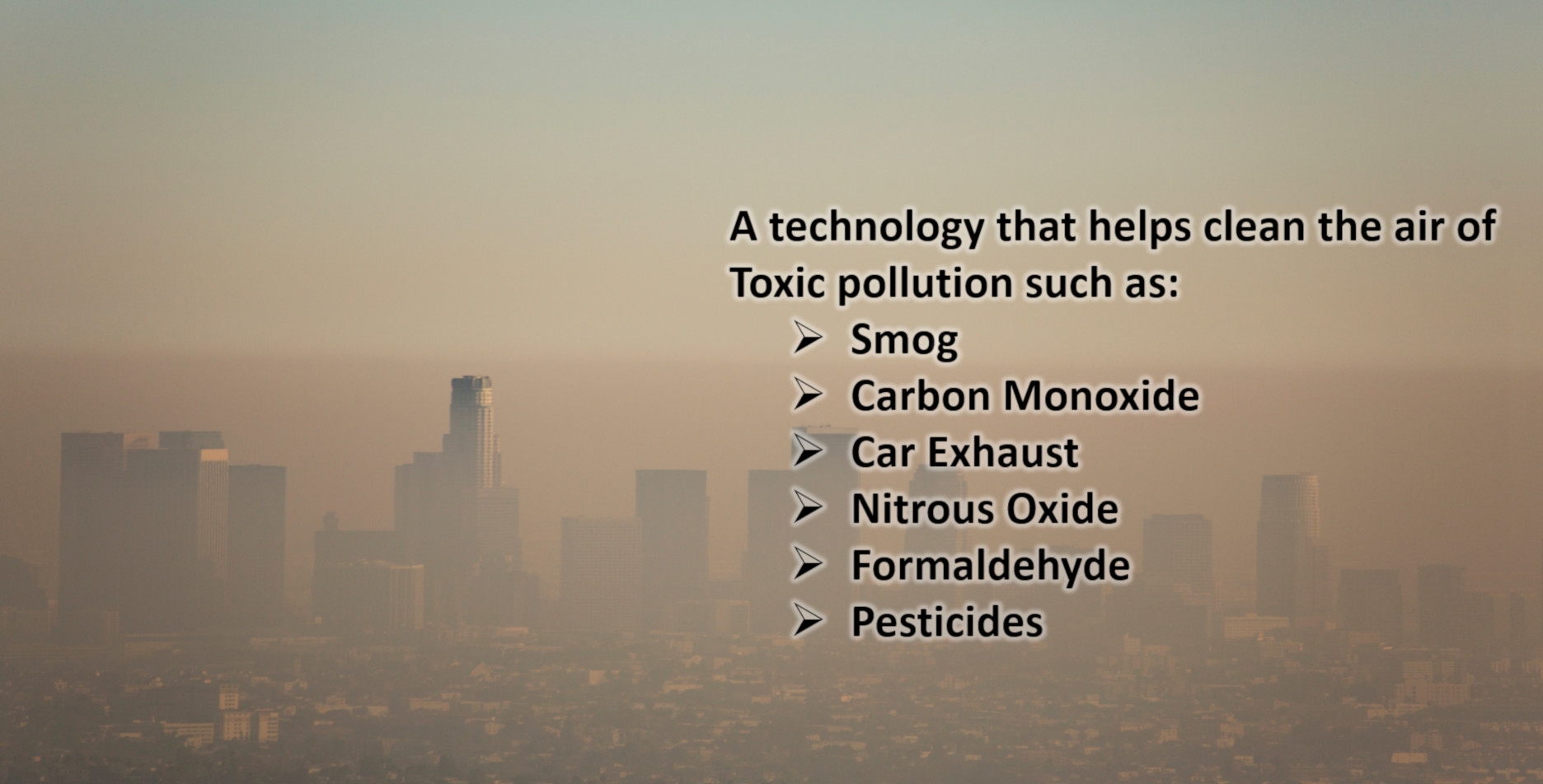 Get Rid of Toxic Pollution